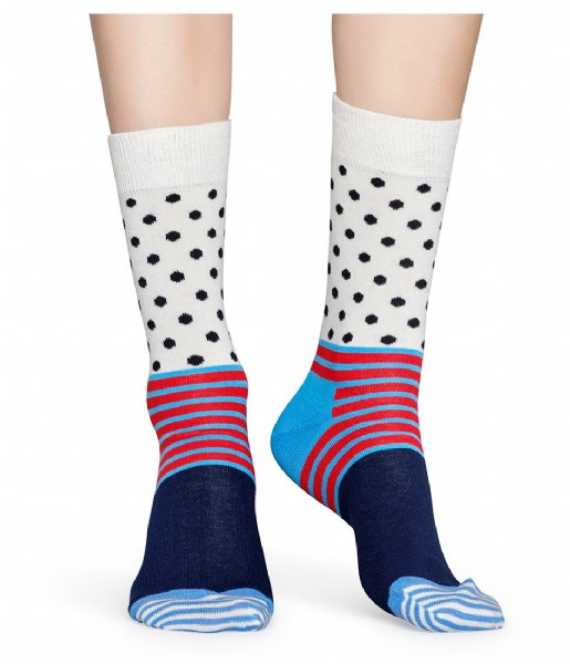 Happy Socks Sokken Stripes & Dots Socks stripes dots (6700)