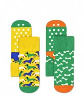 Happy Socks Dog Anti-Slip Socks  Multi
