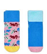 Happy Socks Squirrel Anti-Slip Socks Multi