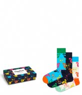Happy Socks 3-Pack Mixed Dog Gift Box mixed dog (0100)