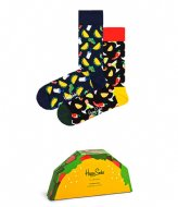 Happy Socks 2-Pack Taco Gift Box taco (6500)