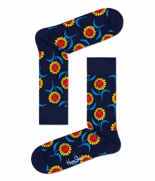 Happy Socks Sokken SMU 2-pack Sunflower Gift Box sunflower (6300)