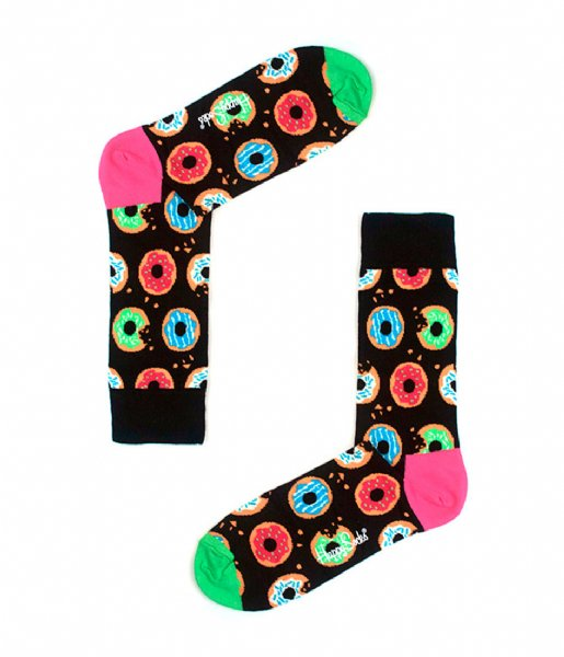 Happy Socks Sokken SMU 3-pack Donut Gift Box donut (5300)