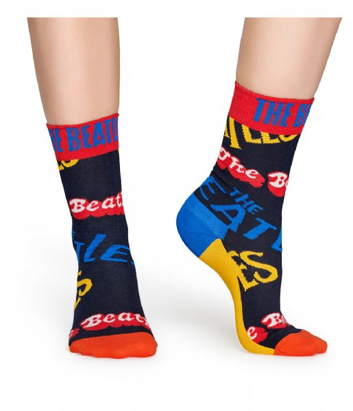 Happy Socks Sokken Beatles In The Name Of Socks beatles in the name of socks (6502)
