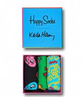 Happy Socks Keith Haring Gift Box keith haring (0100)