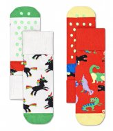 Happy Socks Kids Dinosaur Anti-Slip Socks dinosaur (4000)