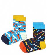 Happy Socks 2-pack Kids Dog Socks dog (6500)