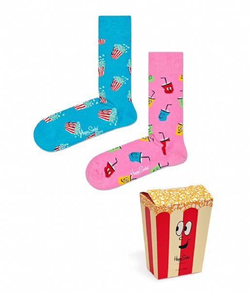 Happy Socks Sokken Snacks Socks Gift Box snacks (4300)