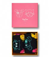 Happy Socks Cat VS Dog Gift Box cat vs dog gift box (9300)