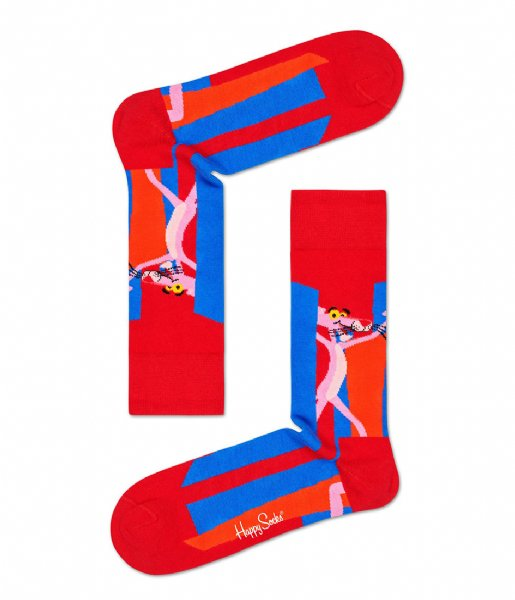 Happy Socks Sokken Pink Panther Smile Pretty Say Pink Socks pink panther smile pretty, say pink (4300)