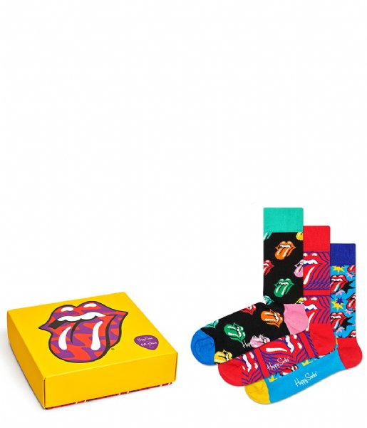 Happy Socks Sokken Rolling Stones Sock Box Set rolling stones (0100)