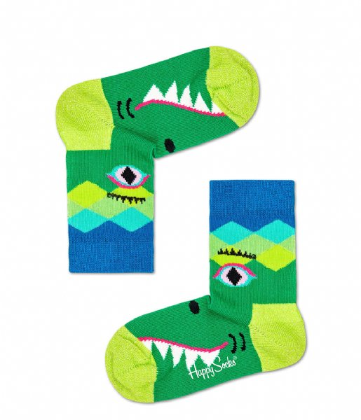 Happy Socks Sokken Crazy Crocodile Socks Crazy Crocodile (7300)