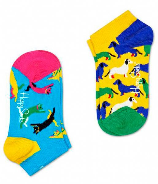 Happy Socks Sokken 2-Pack Cat vs Dog Low Socks cat dog (2000)