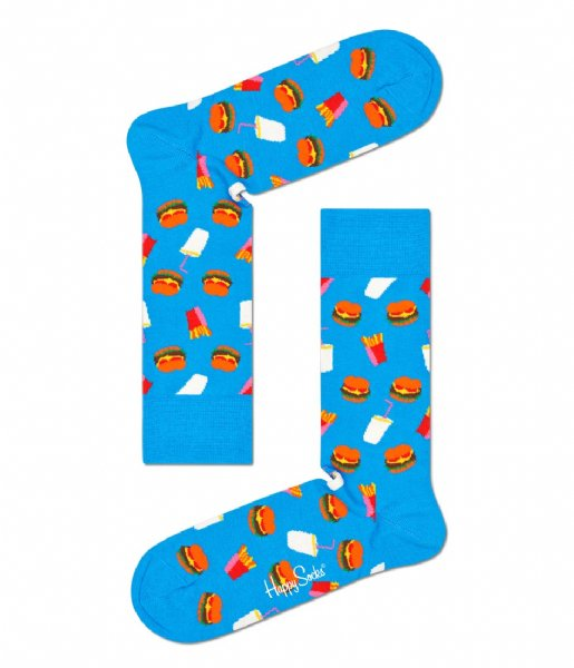 Happy Socks Sokken Burger Socks Gift Set Burgers (6000)