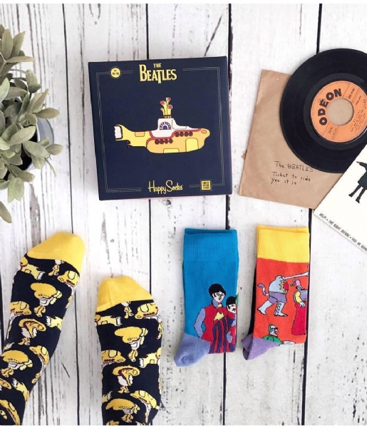 Happy Socks Sokken Box Set X The Beatles the beatles (6000)