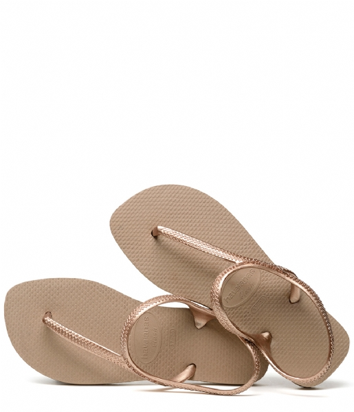 Havaianas Slippers Flipflops Flash Urban rose gold (3581)