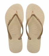 Havaianas Kids Flipflops Slim sand grey light golden (2719)