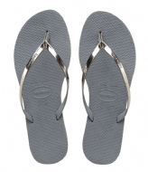 Havaianas Flip Flops You Metallic steel grey (5178)