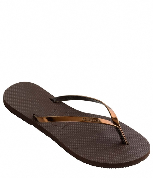 Flip Flops You Metallic Dark Brown 0727 Havaianas  The -9897