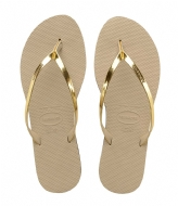 Havaianas Flip Flops You Metallic sand grey (2719)