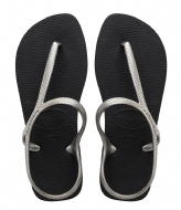 Havaianas Flipflops Flash Urban black silver colored (2976)