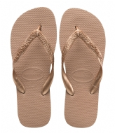 Havaianas Flipflops Top Tiras rose gold colored (3581)