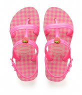 Havaianas Kids Flipflops Joy Spring ballet rose shocking pink fluor (1250)