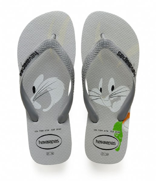 Havaianas Slippers Kids Flipflops Looney Tunes ice grey (3498)