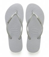 Havaianas Flipflops Slim Logo Metallic grey (0324)