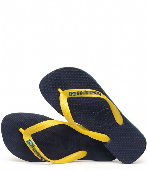 Havaianas Slippers Flipflops Brasil Layers navy blue (0555)