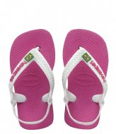 Havaianas Baby Flipflops Brasil Logo hollywood rose (0064)