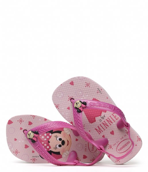 Havaianas Slippers Flipflops Baby Disney Classics crystal rose (1141)