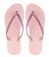 Havaianas Flipflops Kids Slim Shiny ballet rose (0076)