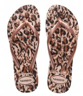 Havaianas Flipflops Slim Animals ballet rose (0076)