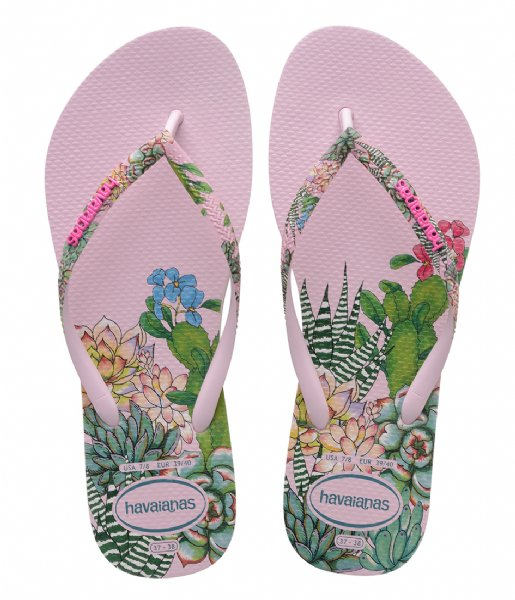 Havaianas Slippers Flipflops Slim Sensation crystal rose (1141)