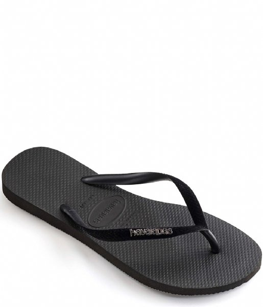 Havaianas Slippers Flipflops Slim Velvet black (0090)