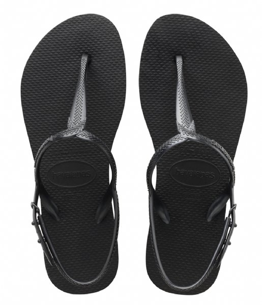 Havaianas Slippers Flipflops Twist black (0090)