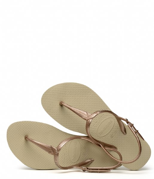 Havaianas Slippers Flipflops Twist sand grey (0154)