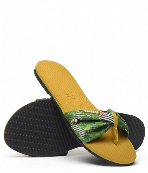Havaianas Slippers Flipflops You Saint Tropez burned yellow (7609)