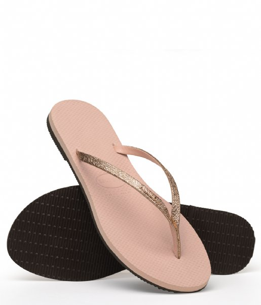 Havaianas Slippers Flipflops You Shine ballet rose (0076)