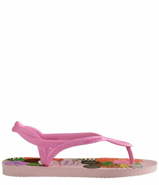 Havaianas Slippers Kids Flipflops Luna Print Crystal rose (1141)