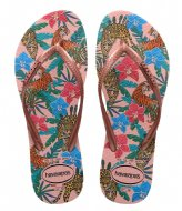 Havaianas Slim Tropical Ballet Rose/Pink Retro Metallic (5977)