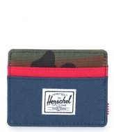 Herschel Supply Co. Charlie navy woodland camo 00041