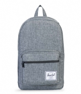 Herschel Supply Co. Pop Quiz 15 Inch raven crosshatch (00919)