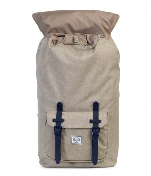 Herschel Supply Co. Laptop rugzak Little America 15 Inch light khaki crosshatch (01571)