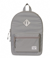 Herschel Supply Co. Heritage Youth silver colored reflective rubber (01427)
