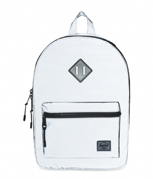 Herschel Supply Co. Dagrugzak Heritage Youth silver colored reflective rubber (01427)