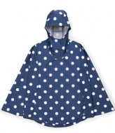 Herschel Supply Co. Apparel Voyage Poncho peacoat polka dots (00020)
