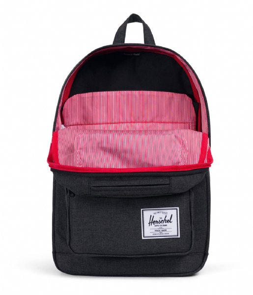 Herschel Supply Co. Laptop rugzak Pop Quiz 15 Inch black crosshatch/black rubber (02093)