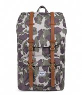 Herschel Supply Co. Little America 15 Inch frog camo/tan (01858)